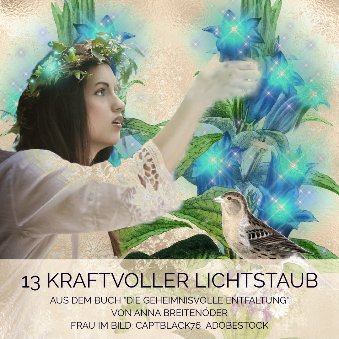 13 Kraftvoller Lichtstaub