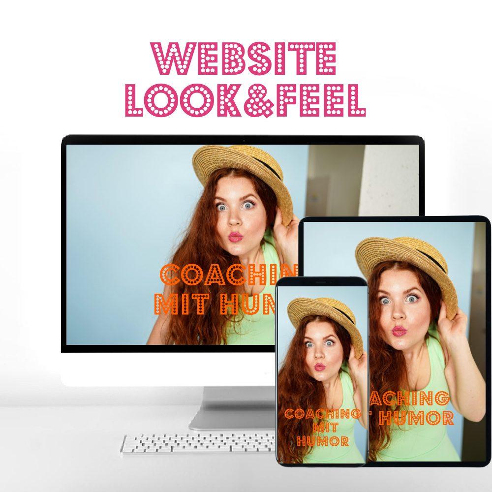 Website Unterhalterin